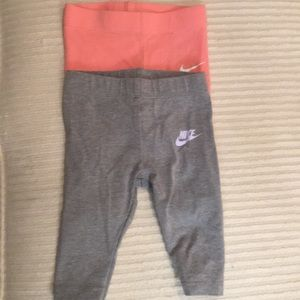 Nike Infant Girls Legging Pant 3 Months (2 pairs)